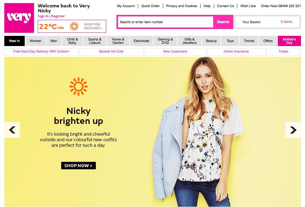 Website personalisation tactics include web banners